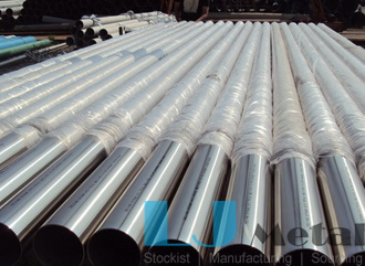 Tp316L Seamless Pipe outside 400grit polished for Kuwait customer