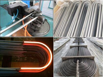 U tube bending and annealing