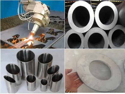 cutting stainless steel tube and plate